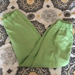 Brandy Melville Green Rosa Sweats